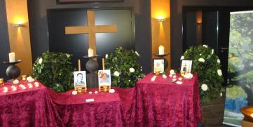 Gedenkfeier Allerheiligen 2014